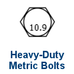High Grade 10.9 Metric Bolts