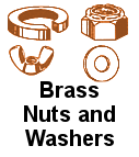 Brass Nuts and Washers
