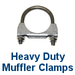 Heavy Duty Muffler Clamps