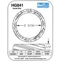 "HG841 Chevy GMC 2 3/16"" Heat Gasket"