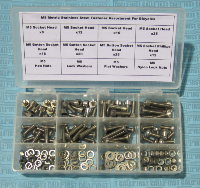 M5 Stainless Steel Fastener Kit