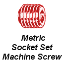 Metric Socket Set Machine Screw