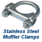 Stainless Steel Muffler Clamp