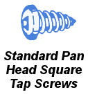 Stnd Pan Head Square Tap Screw