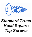 Stnd Truss Head Square Tap Screw