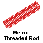 Metric Threaded Rod Stainless Steel