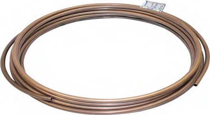cupro nickel coated brake line