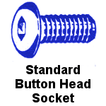 Standard Stainless Steel Button Socket Cap Screw