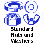Standard Stainless Steel Nuts and Washers