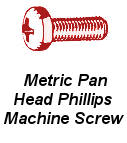 Mtr Pan Hd Phil Machine Screw