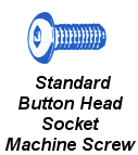 Stnd Butt Sock Cap Machine Screw