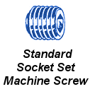 Stnd Socket Set Machine Screw
