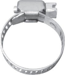 """CC10 1/2"""" - 1 1/16"""" Hose Clamp (Pack of 10)"""