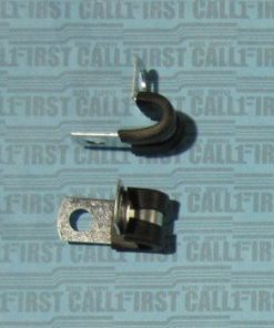 "1/4"" Rubber Cushion Steel Clamp"