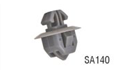 SA140 Toyota 75392-60030, 20877, Wheel Flare Moulding Clip (20pcs)