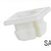SA157 Grille Nut, Natural Nylon 13933 (10pcs)