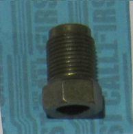 """12mm x 1.0 Invert Brake Line Fitting 1/4"""" Tube"""