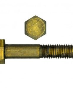 Brass Hex Head Cap Screw