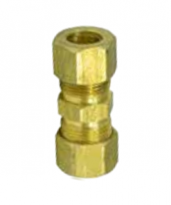 """1/4"""" Steel to Nylon Fuel Line Compression Fitting"""