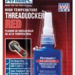 High Temp Red Threadlocker 10ml
