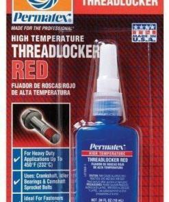 High Temp Red Threadlocker 10ml