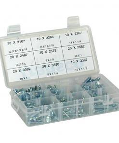 Metal Tap Screw Assortment 170pcs
