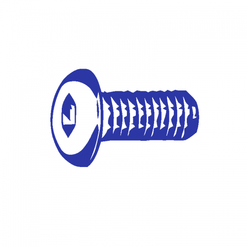 10-24 X 1/4 Button Socket Cap Screw