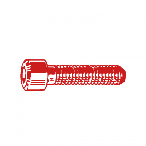M6 X 12 Socket Head Cap Screw